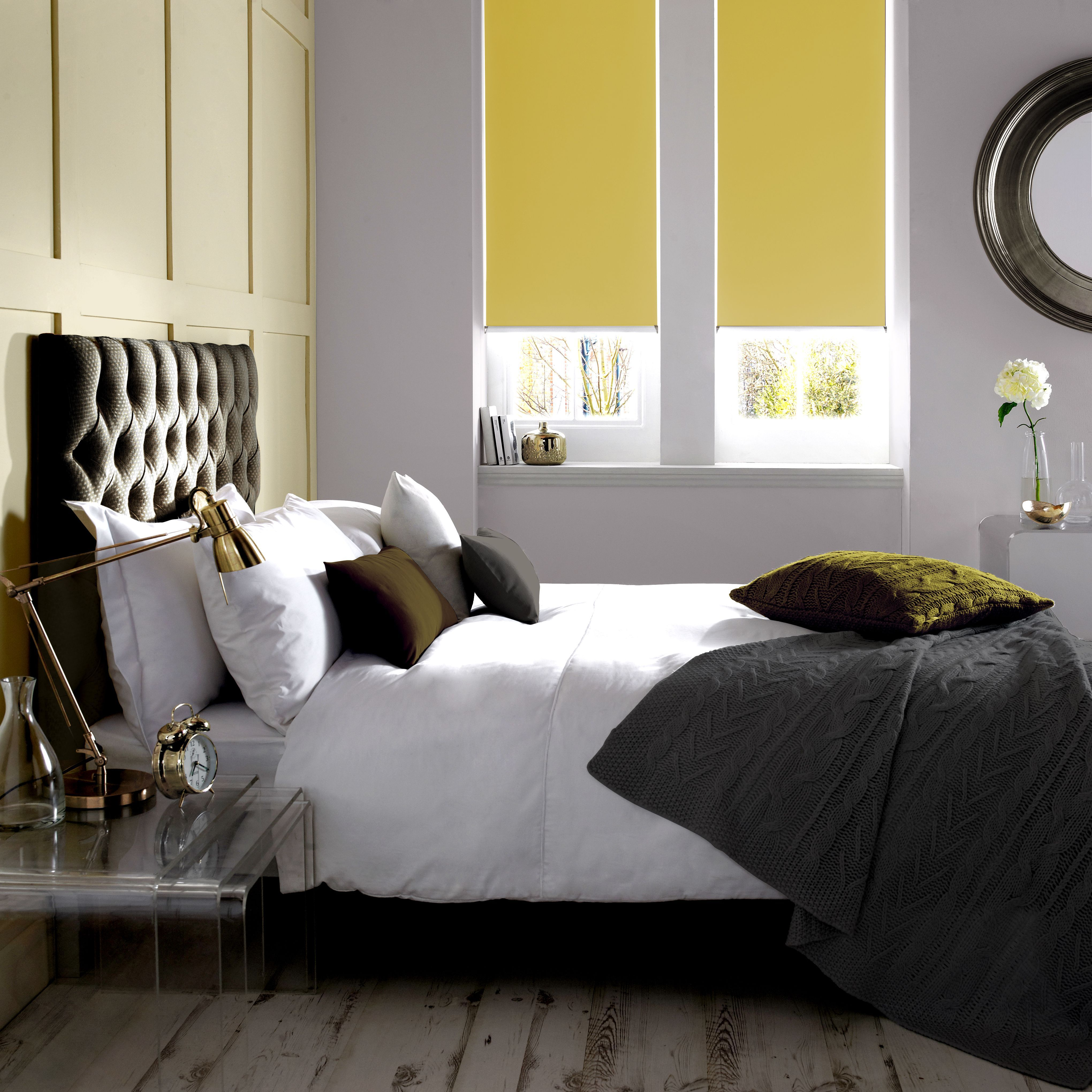 Banlight Duo Roller Blinds From Style Studio Yellow Blinds Roller Blinds Bedroom Blinds Contemporary Living Room Blinds Curtains With Blinds Bedroom Blinds
