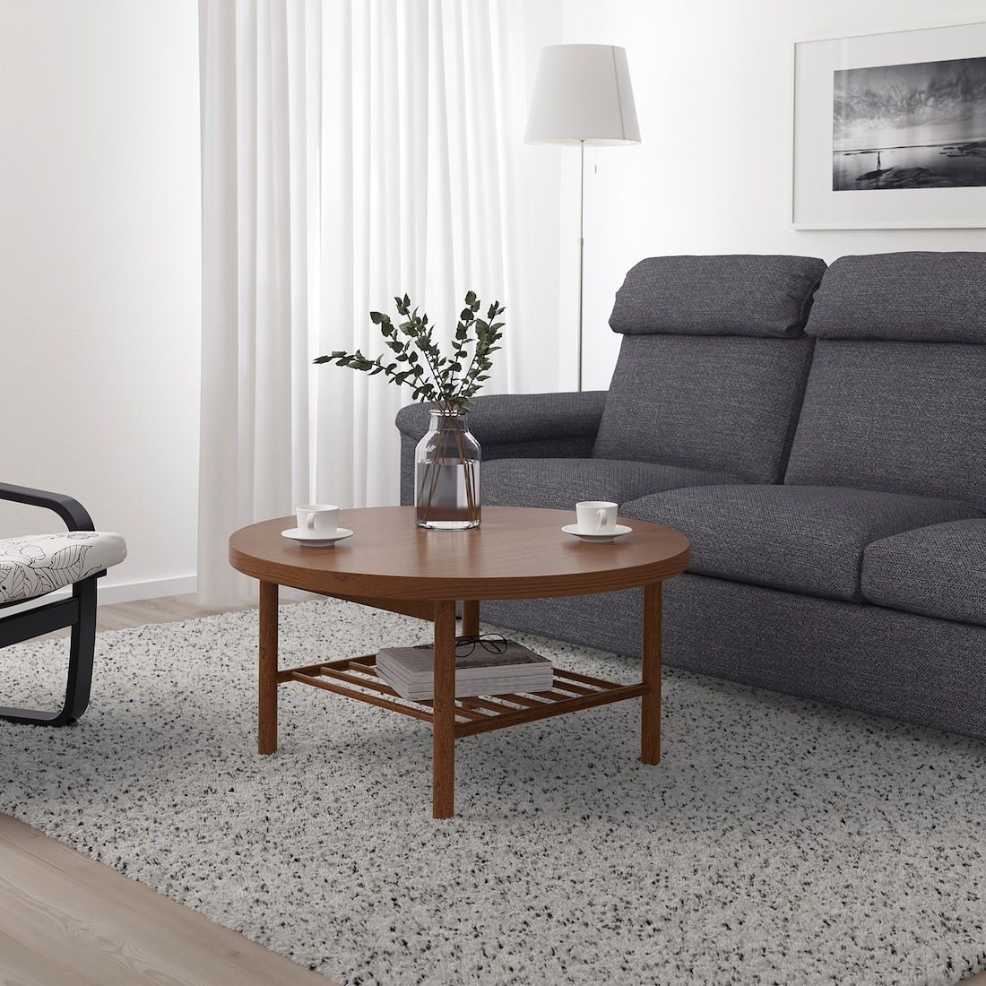 Listerby Coffee Table Brown 35 3 8 Ikea Coffee Table Wooden Coffee Table Designs Ikea Coffee Table [ 1100 x 1100 Pixel ]