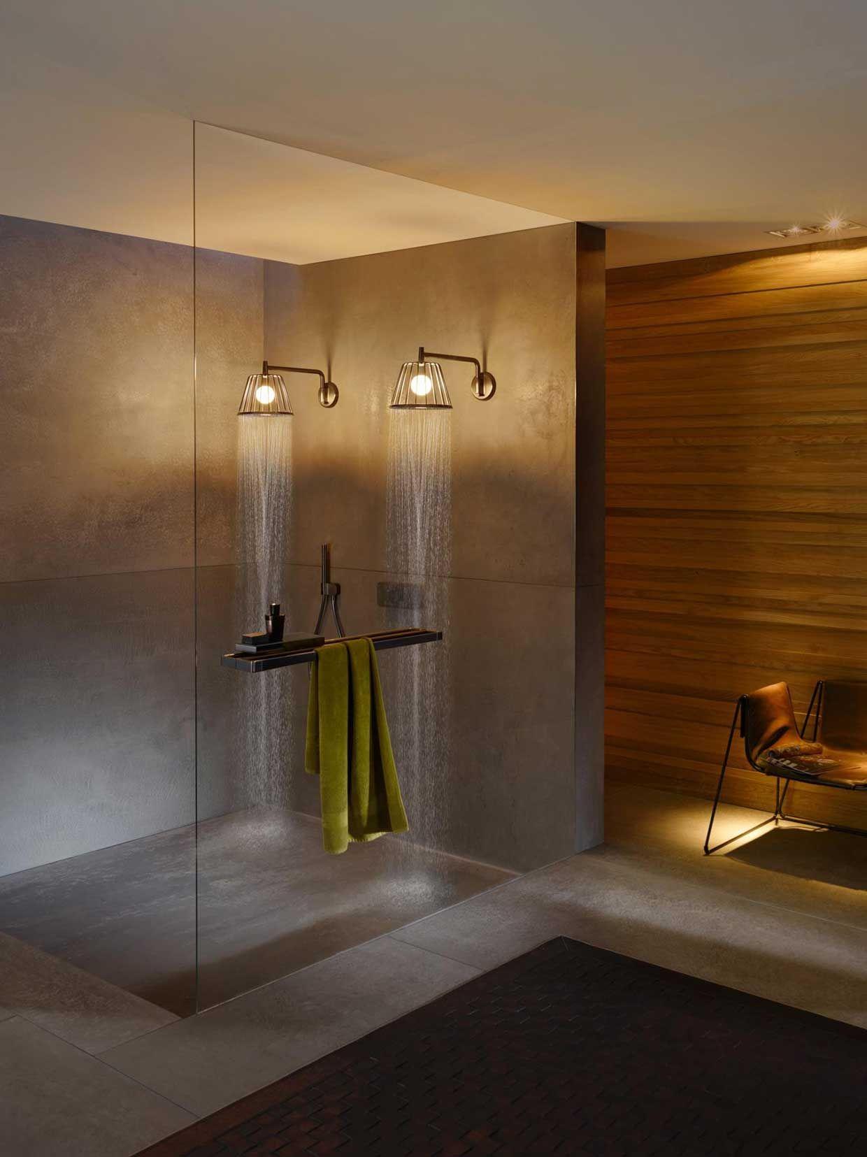 Nendo lo studio di architettura pro ta Axor Lamp Shower