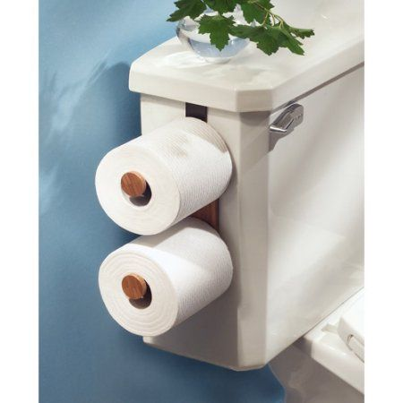 Interdesign Formu Toilet Paper Holder For Bathroom Storage Over The