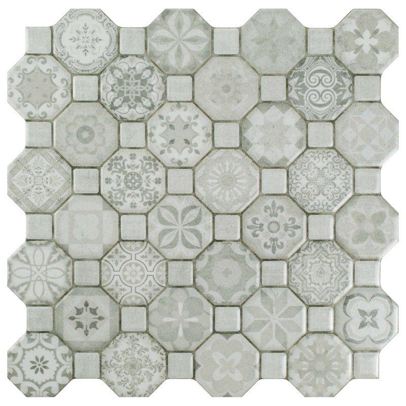 Edredon 12 X 12 Ceramic Mosaic Tile Ceramic Mosaic Tile Ceramic Tiles Ceramic Floor