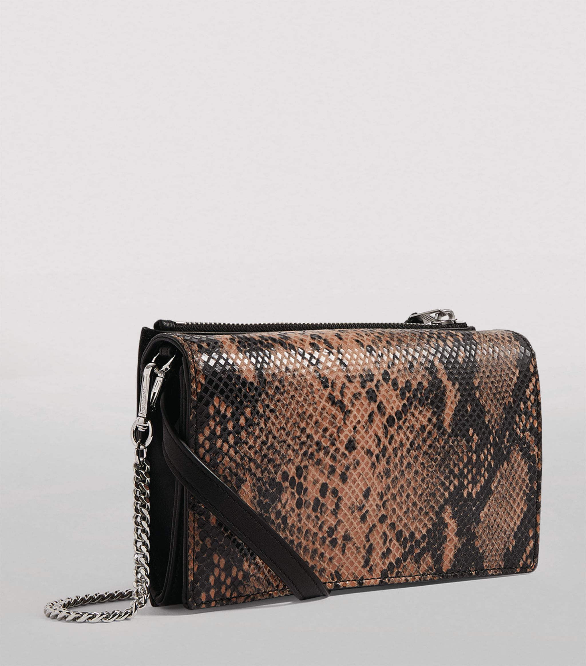 AllSaints pink Small Leather Fetch Chain Cross-Body Bag #AD , #Sponsored, #Small, #Leather, #AllSaints, #pink, #Fetch #fetch