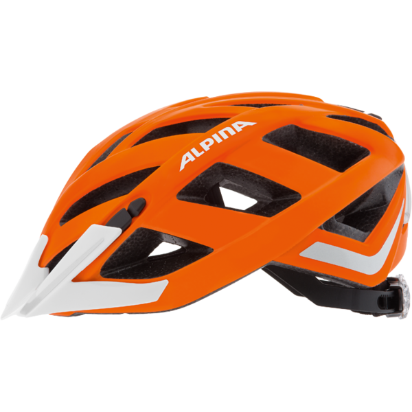 Alpina Panoma City Helmet Orange Matt Reflective Availability In - Alpina helmets