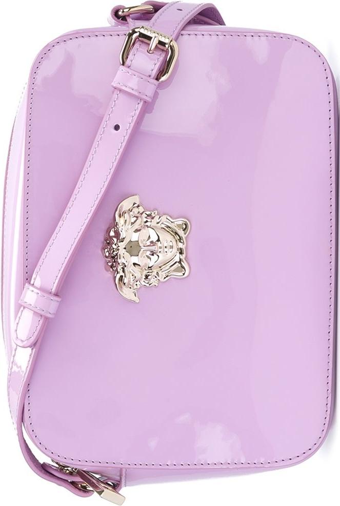 67bba21c12 Versace Purple  Palazzo Medusa  Shoulder Bag