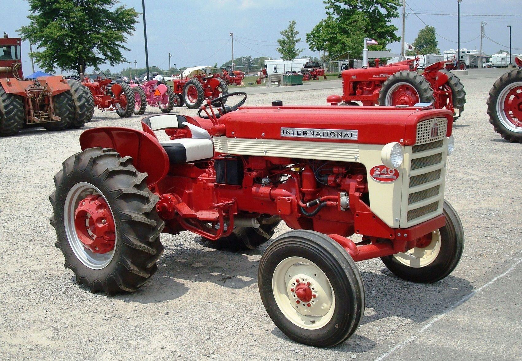 1961 ih 240 utility