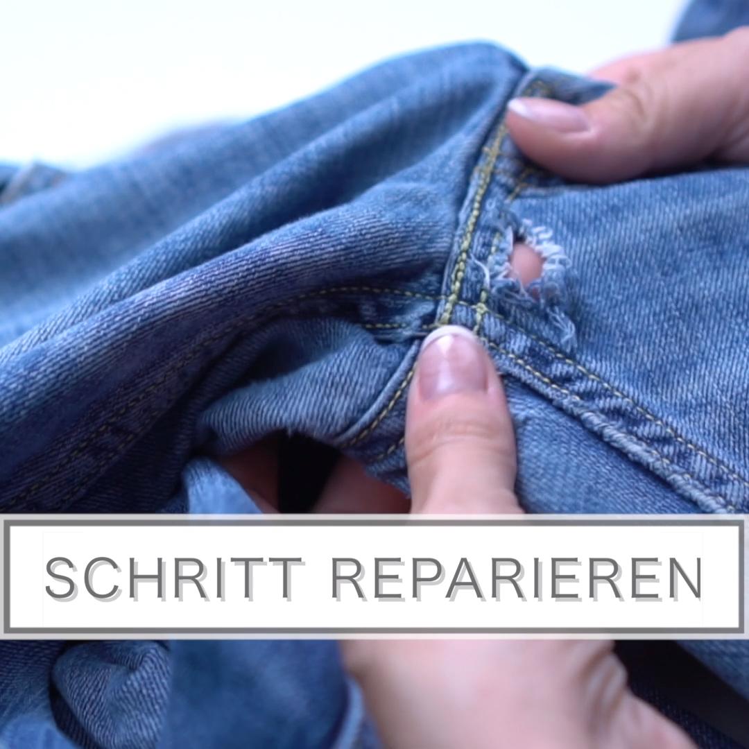 Photo of Reparieren Sie die Hosen im Schritt