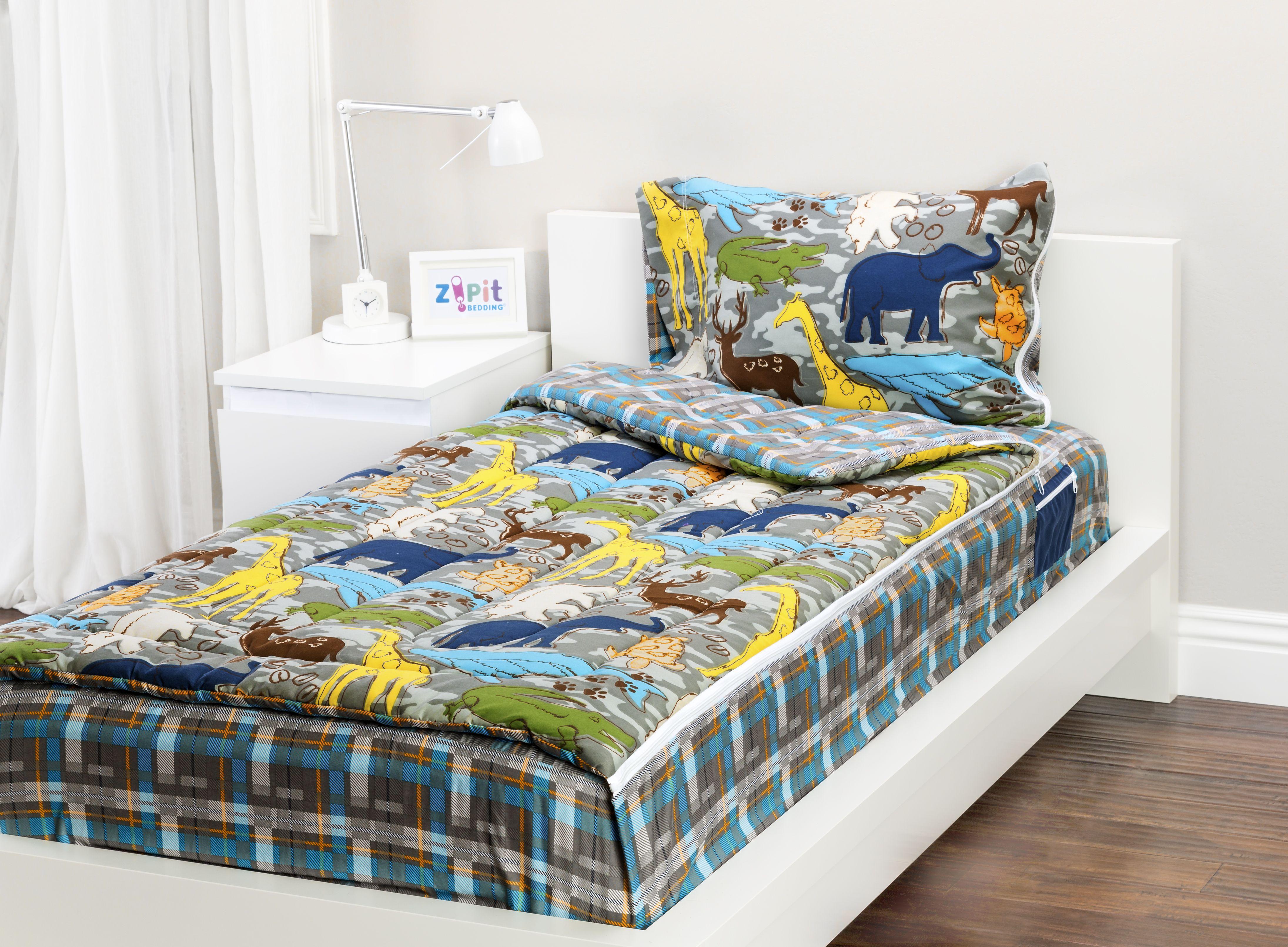 Wild Animals Zipit Bedding Set! Zipit Bedding is America's