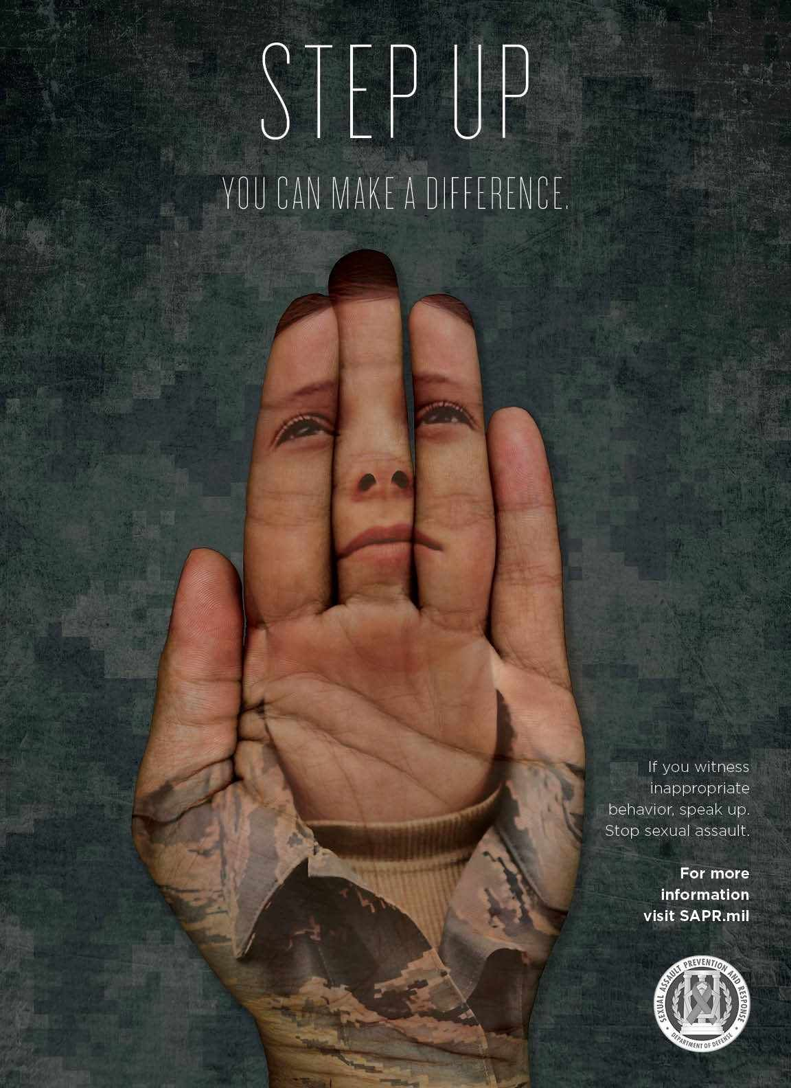 Step up! Strong #ad against sexual assault in the Department of Defense