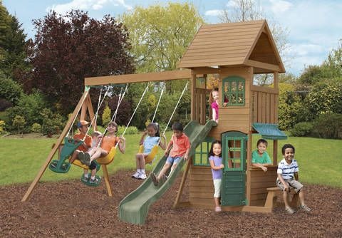 Want To A Kids Swing Set In Ohio Come Champcraft