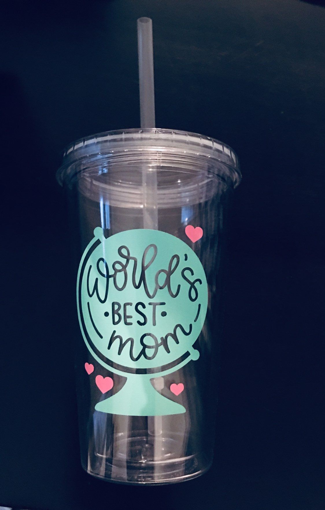 Excited To Share This Item From My Etsy Shop Worlds Best Mom Tumbler With Lid And Straw Mom Tumbler Insula Mom Tumbler Double Wall Tumblers Insulated Cups