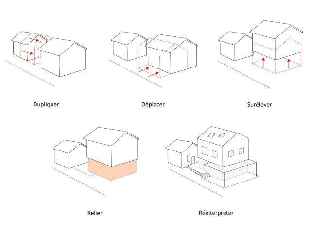 Avant/après  une maison de ville triple sa surface grâce à une