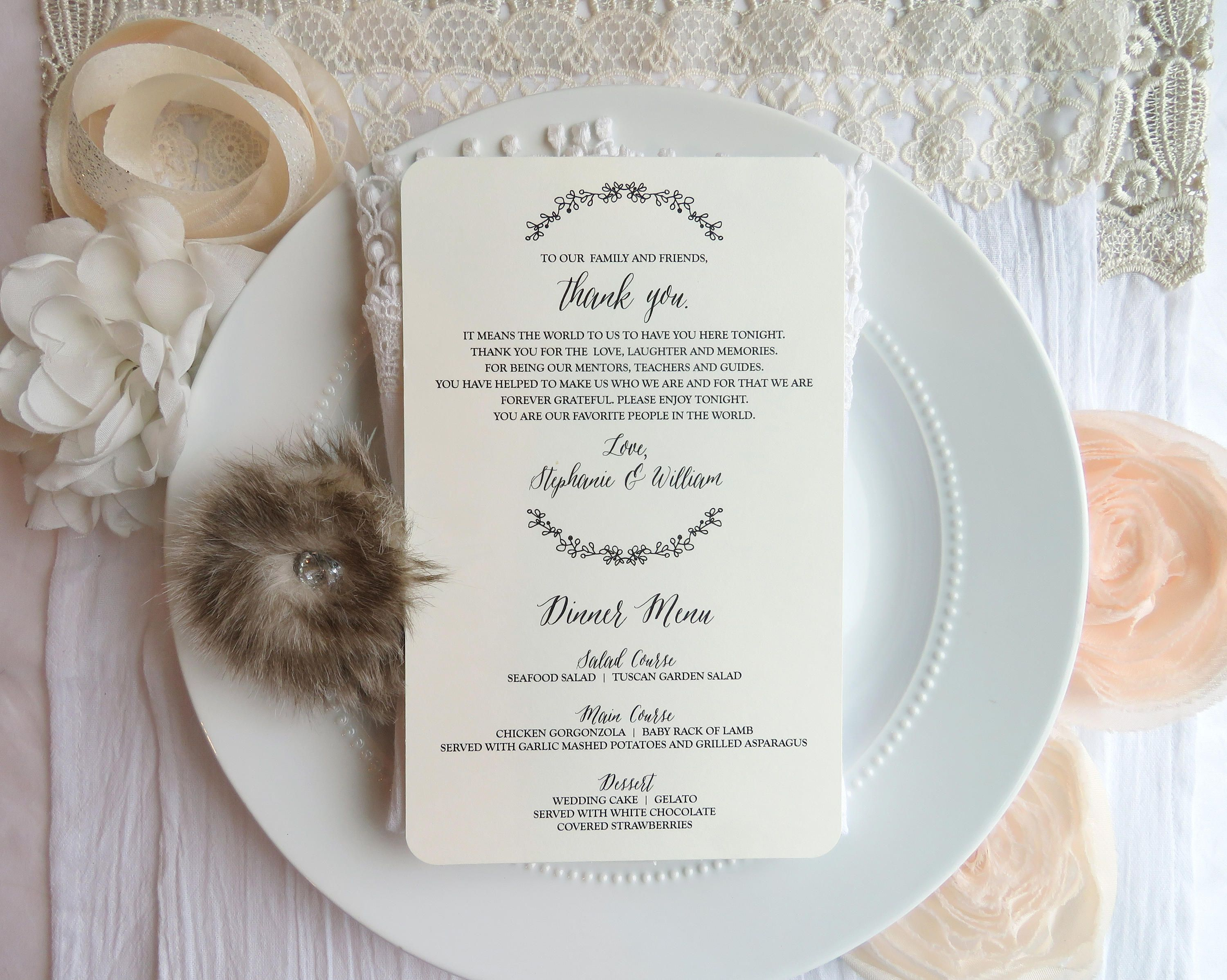Give Thanks To Your Wedding Guests Using Written Word Before