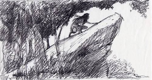 Visual Development from Pocahontas by Glen Keane