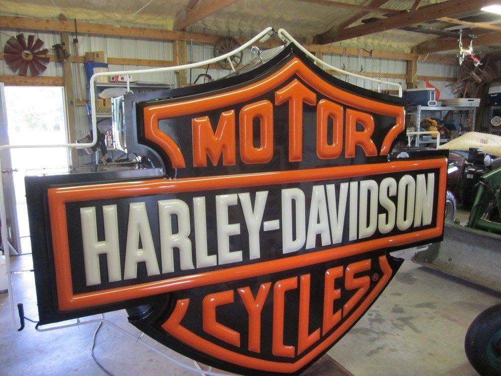 Us 4 995 00 Used In Collectibles Advertising Merchandise Memorabilia Harley Davidson Dealership Harley Davidson Harley