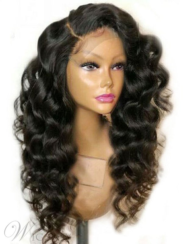 Long Big Curly Synthetic Hair Big Curly Lace Front Wig 24 Inches Curly Lace Front Wigs Synthetic Hair Wigs