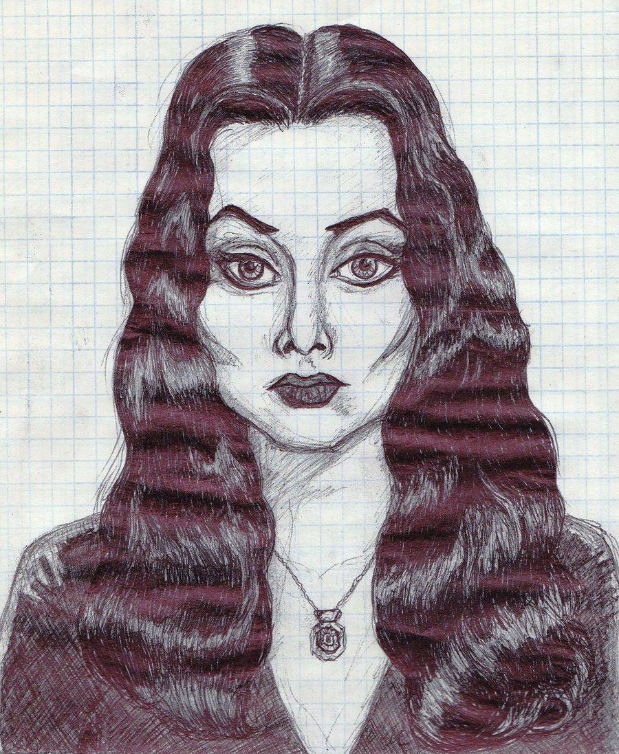 Morticia Addams by ~Cuilwarthien666 on deviantART