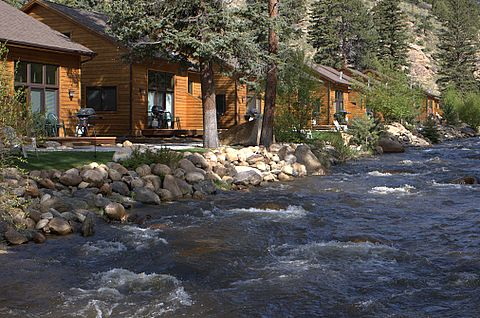 River Stone Resorts And Bear Paw Suites In Estes Park Colorado Pinterest Stones