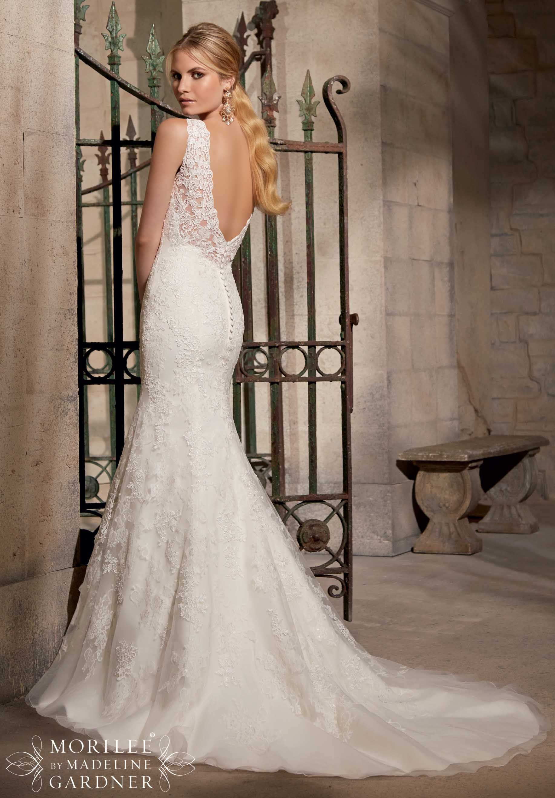 Wedding Bridal Gowns - Designer Morilee – Wedding Dress Style 2714 ...