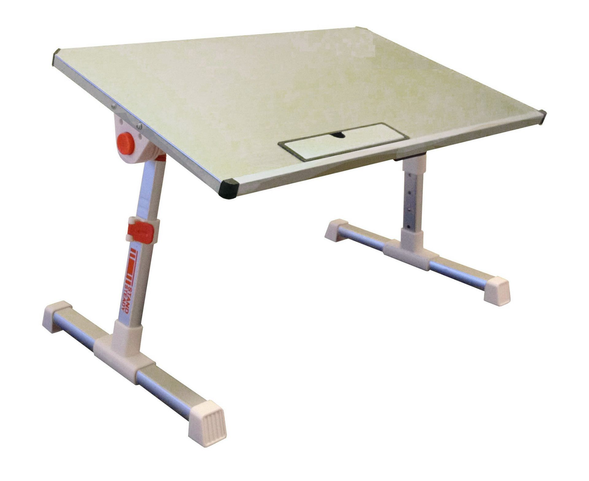 Etonnant Traveler Folding Stand Up Desk / Adjustable Lap Desk (SMALL/TRAVEL SIZE)