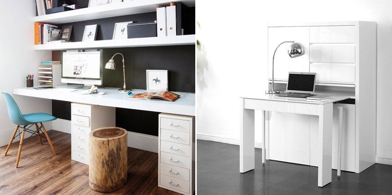 muebles de oficina modernos color blanco - Buscar con Google ...