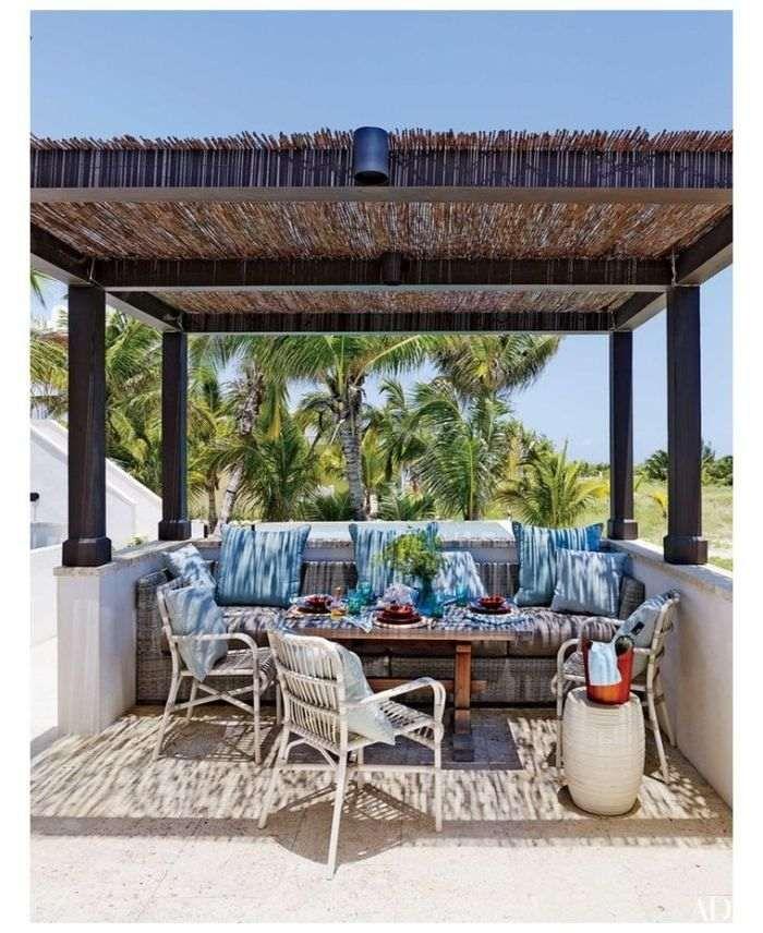 Aménagement d'abri terrasse type pergola - nos idées pour embellir davantage votre espace ...