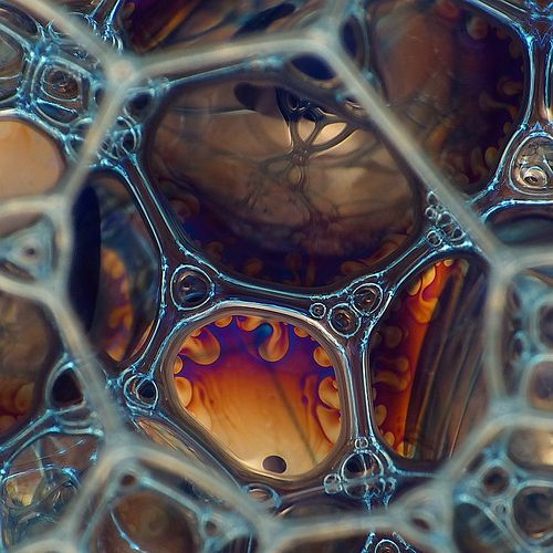 Inside Foam Explored Patterns In Nature Texture Science Art