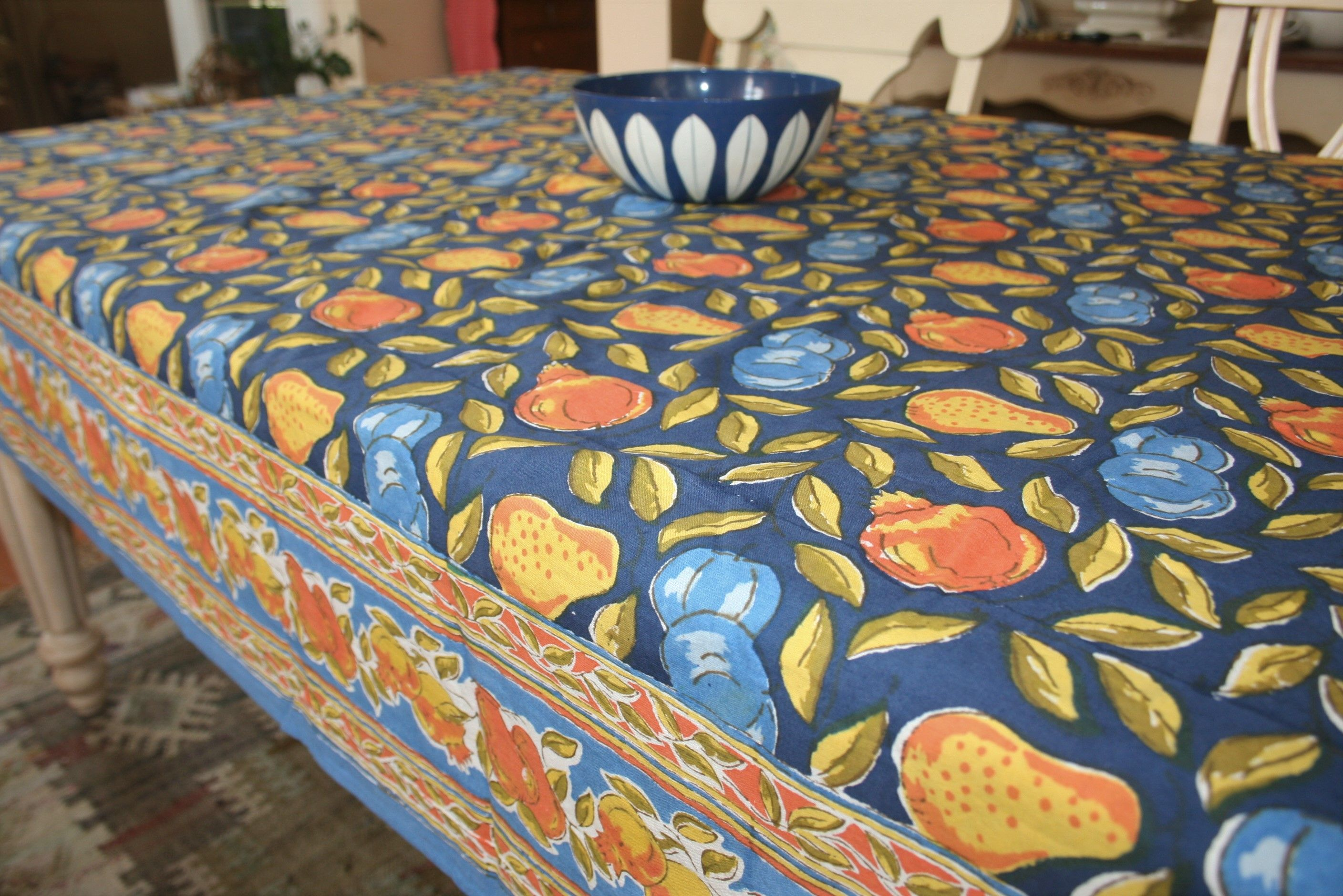 Discontinued pomegranate inc tablecloth fruit 90 x 60 100