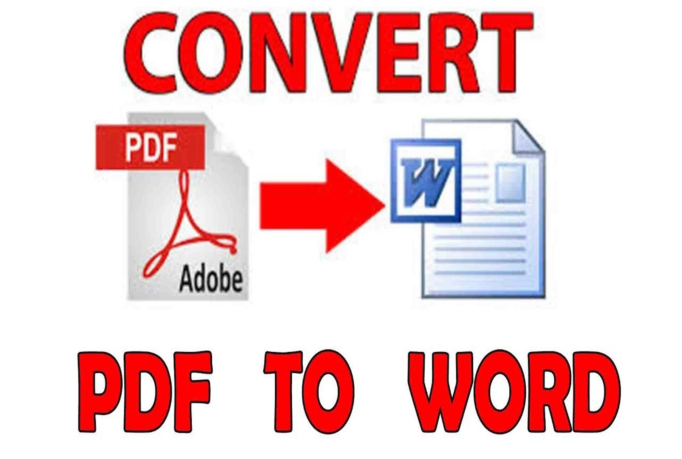 PDFtoWord, Excel, PowerPoint, Image to word Word, Excel
