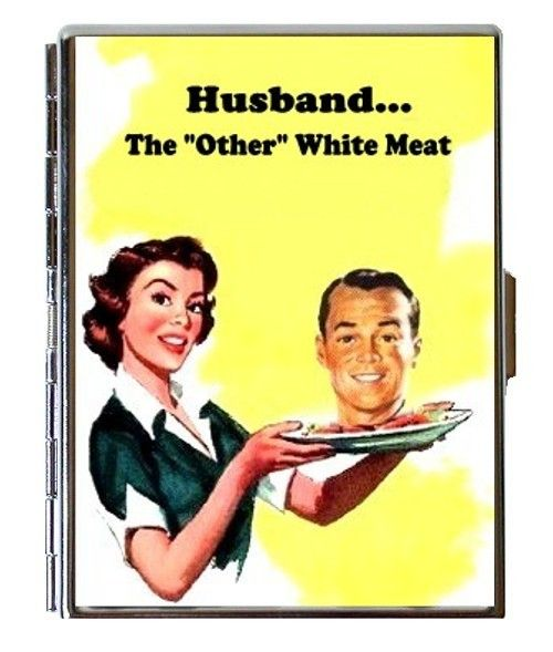 Angry 50s Housewife Puts Husbands Head On A Platter Spoof