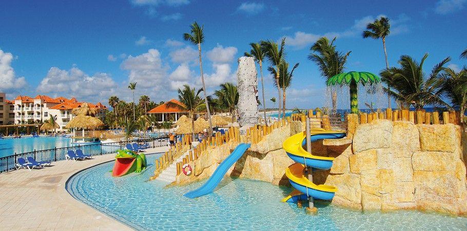 Parque Acuático Del Hotel Barceló Punta Cana