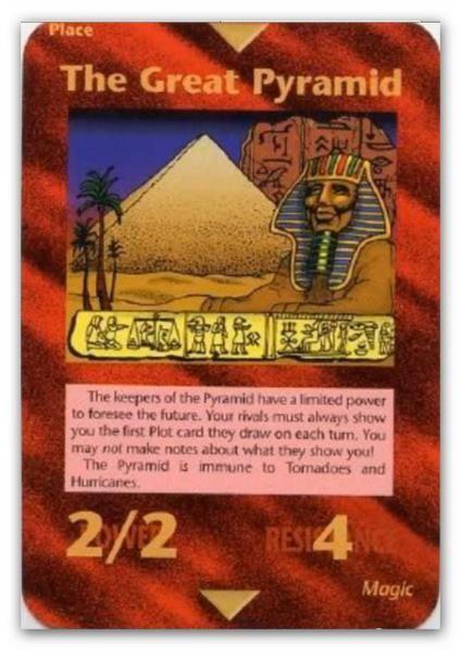 Illuminati Card The Great Pyramid