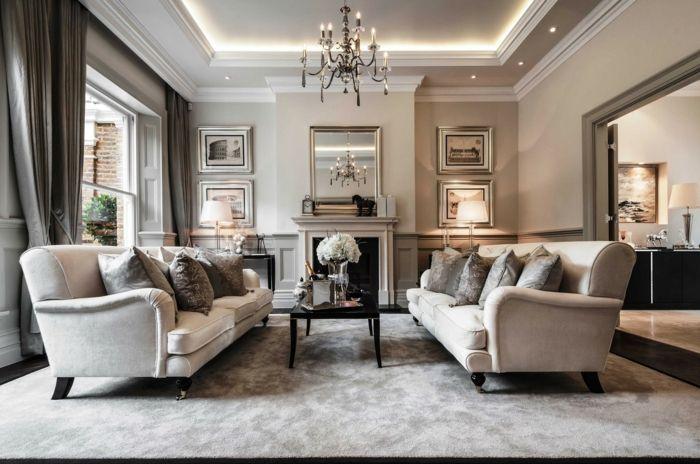 1001 ideen f r taupe farbe im innendesign 45 berzeugende ideen dunkel wohnzimmer und. Black Bedroom Furniture Sets. Home Design Ideas