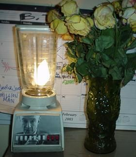 Creative Reuse Blender Turned Lamp Make A Lamp Recycled