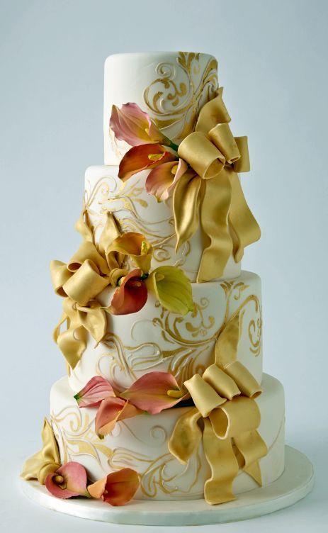 40 Dazzling Wedding Cakes From Lulu Cake Boutique   Wedding cake ...