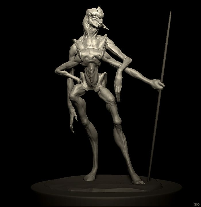 Tars Tarkas Udate Creature Concept Art Creature Design Creatures