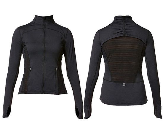 #ROXYOutdoorFItness Frequency Jacket - part of FitSugar's Fit for February: MUST HAVES! @POPSUGAR Fitness