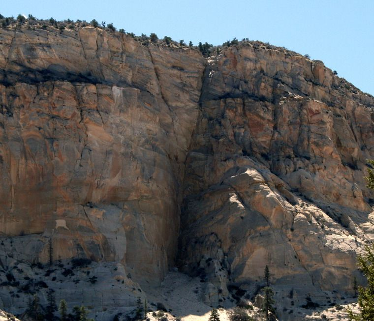 Ancient Lost Treasure In Utah White Cliffs Gold Ledge