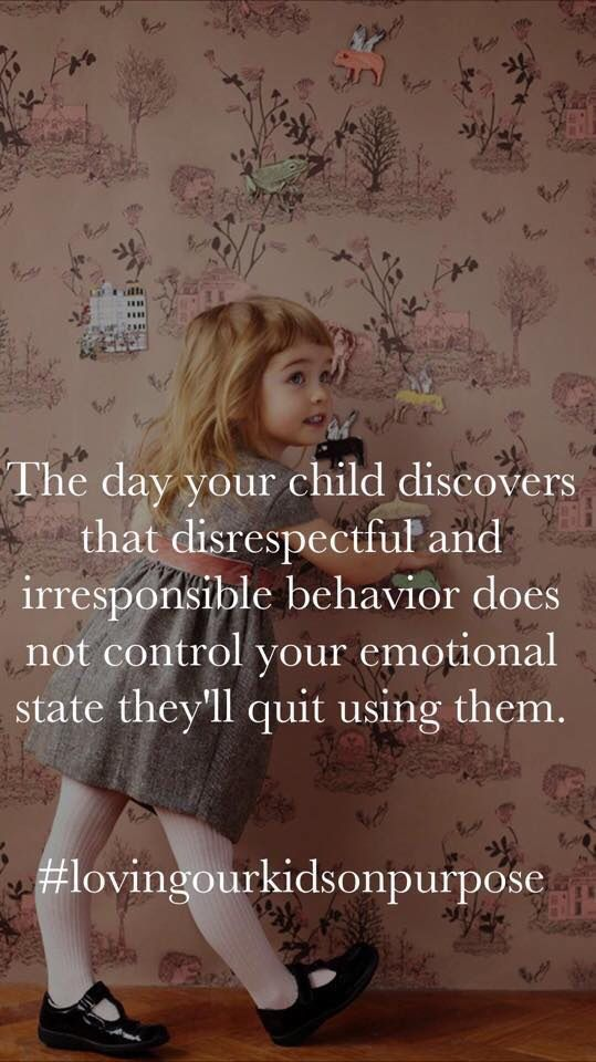 how to avoid disrespectful kids when i have kids
