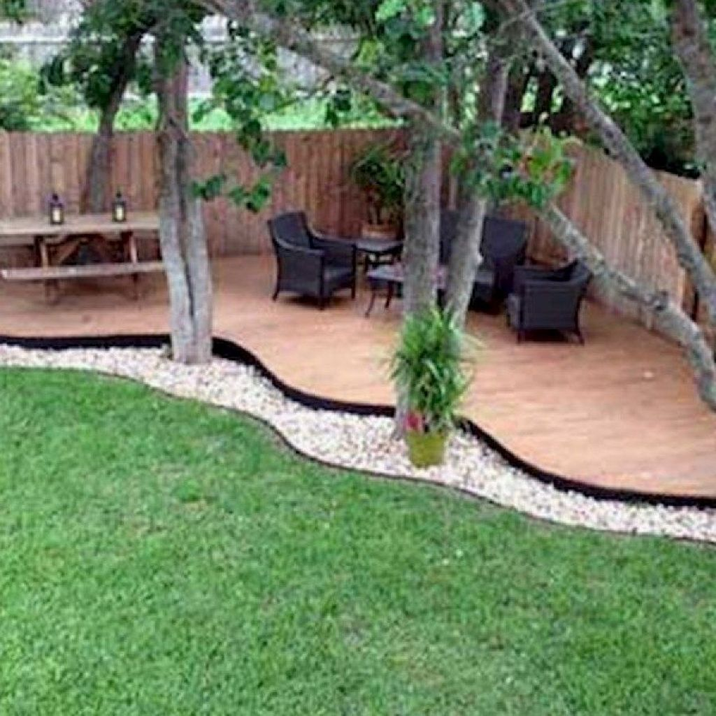 Cool 46 Gorgeous Small Backyard Landscaping Ideas. More At