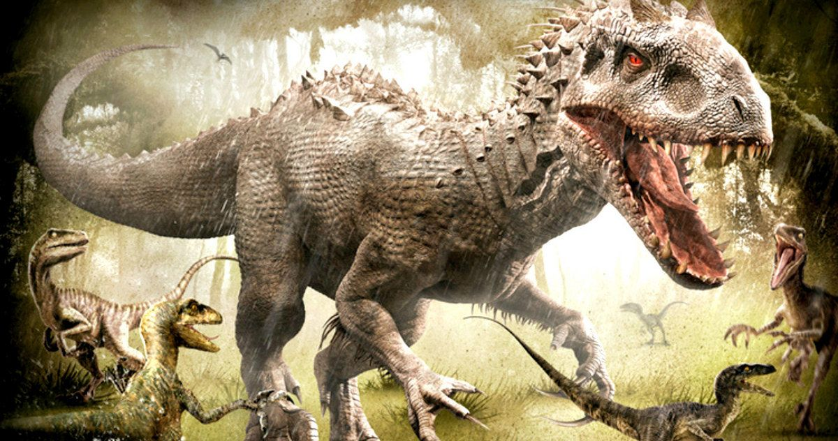 Jurassic World T-Rex and Indominus Rex Posters