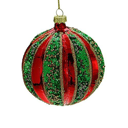 55+ Red And Green Christmas Baubles