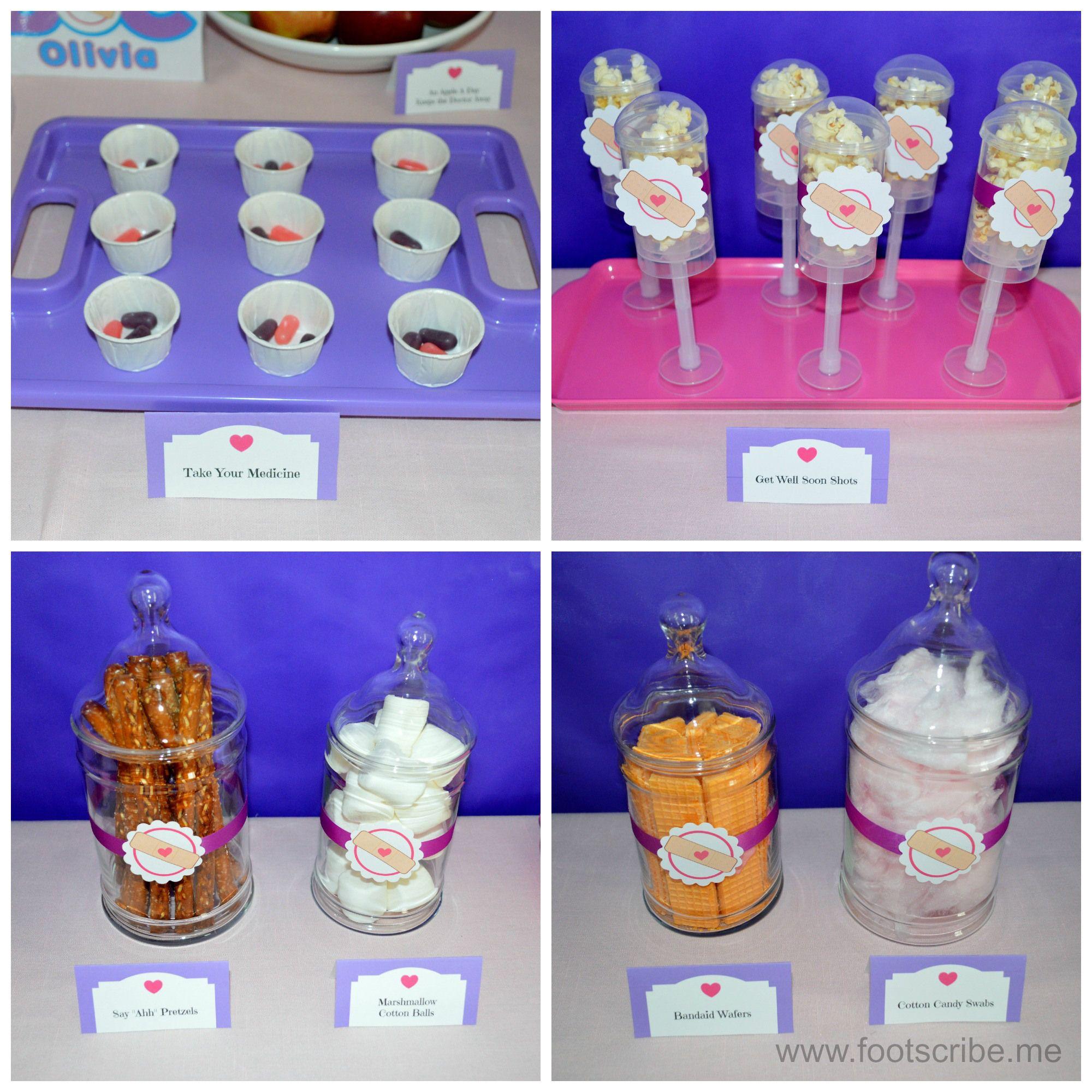 Doc mcstuffins bandages doc mcstuffins party ideas on pinterest doc - Doc Mcstuffins Birthday Party Food Treats