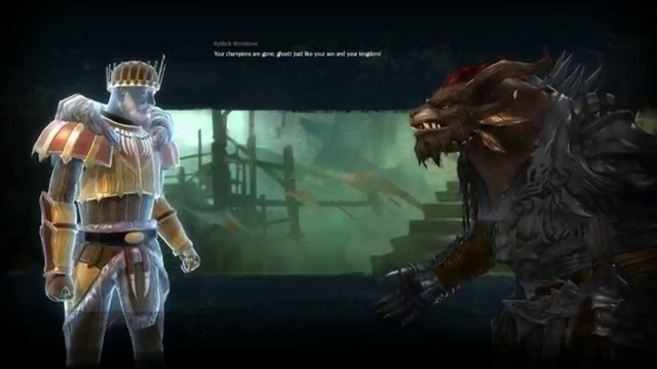 Guild Wars 2 Elementalist - Healer Build First Dungeon