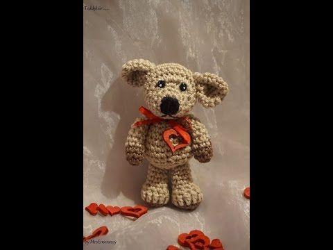 Häkeln Super Easy Teddybär Elizzza Teil 1 Amigurumi