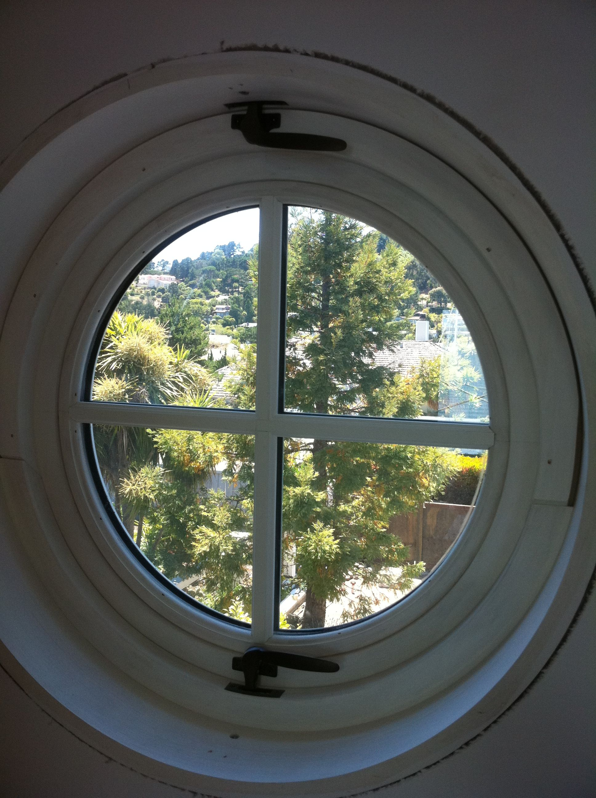 Custom Marvin Window Clad Pivot Window It Is A Circle Window