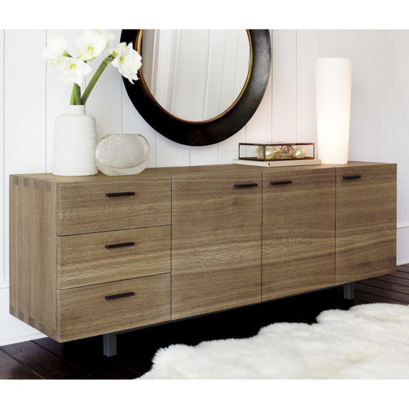 Aspen Sideboard Crate And Barrel Modern Home Barrel Furniture