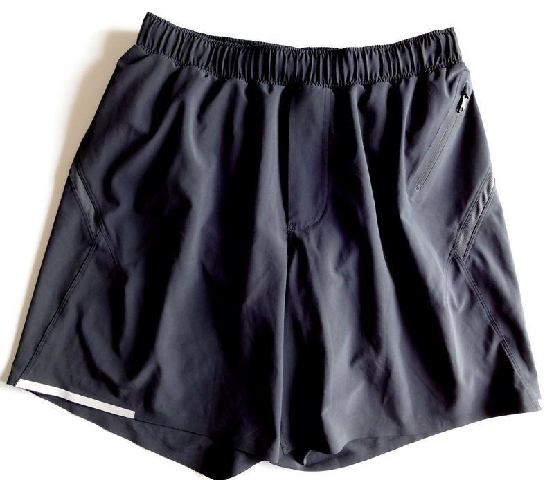 Men's Lululemon Surge Shorts Size Medium M Black Running