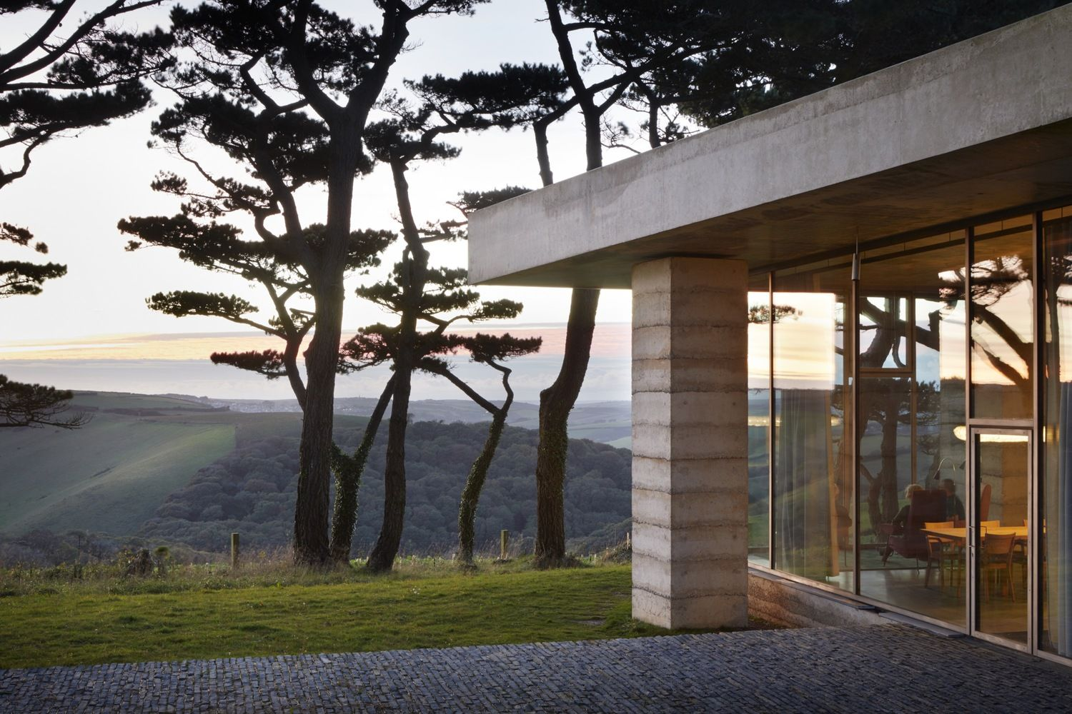 Gallery Of Peter Zumthor S Rammed Concrete Retreat For Living Architecture Nears Completion In England 6 Peter Zumthor Andrea Palladio Architecture Series