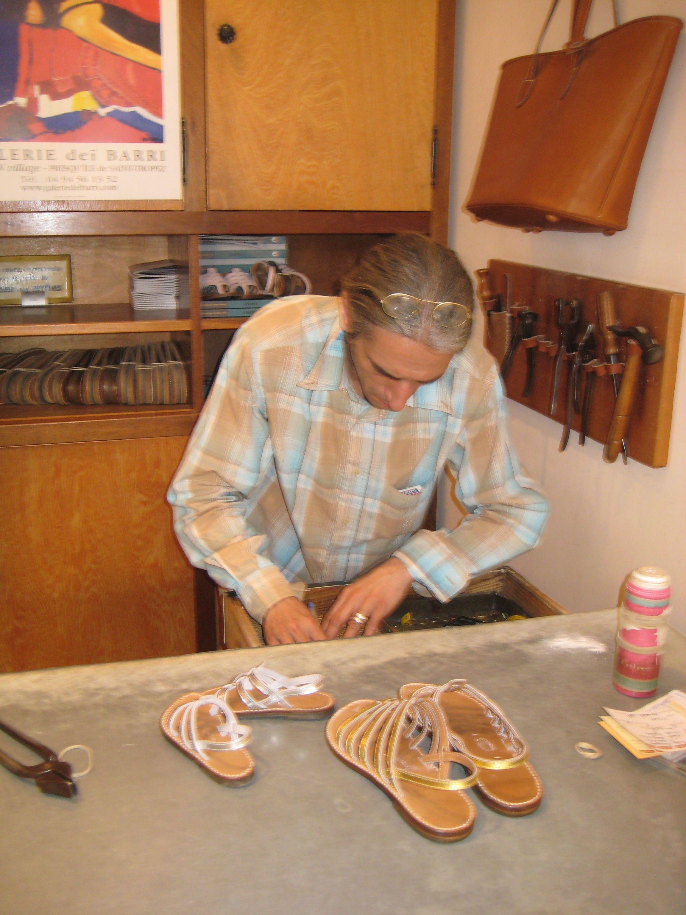 74a87ed10da Original Tropezienne sandals - handmade by Rondini in St. Tropez (got my  daughter s to match mine)