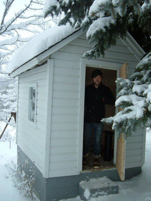 Diy Building A Rustic Sauna